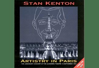 Stan & His Orchestra Kenton - ARTISTRY IN PARIS LEGENDARY CONCERT AT ALHAMBRA  - (CD)
