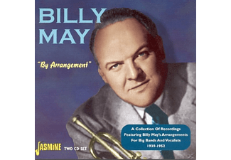 Billy May - BY ARRANGEMENT - COLLECTION OF RECORDINGS 1939-52  - (CD)