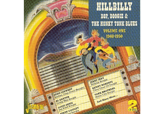 VARIOUS - Hillbilly Bop Boogie & Honky Tonk Blues Vol.1  - (CD)