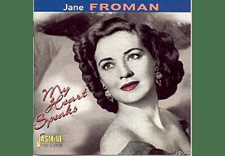 Jane Froman - My Heart Speaks  - (CD)