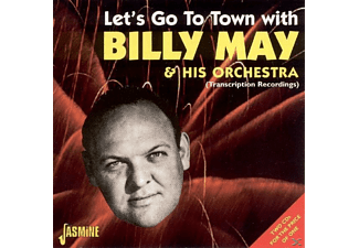 Billy May - LET'S GO TO TOWN  - (CD)