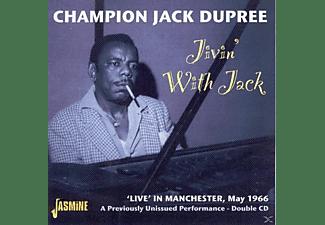 Champion Jack Dupree - JIVIN' WITH JACK, LIVE  - (CD)