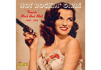 VARIOUS - FEMALE ROCK AND ROLL 1956-58  - (CD)