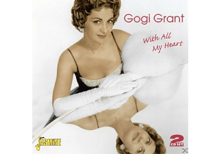 Gogi Grant - WITH ALL MY HEART  - (CD)