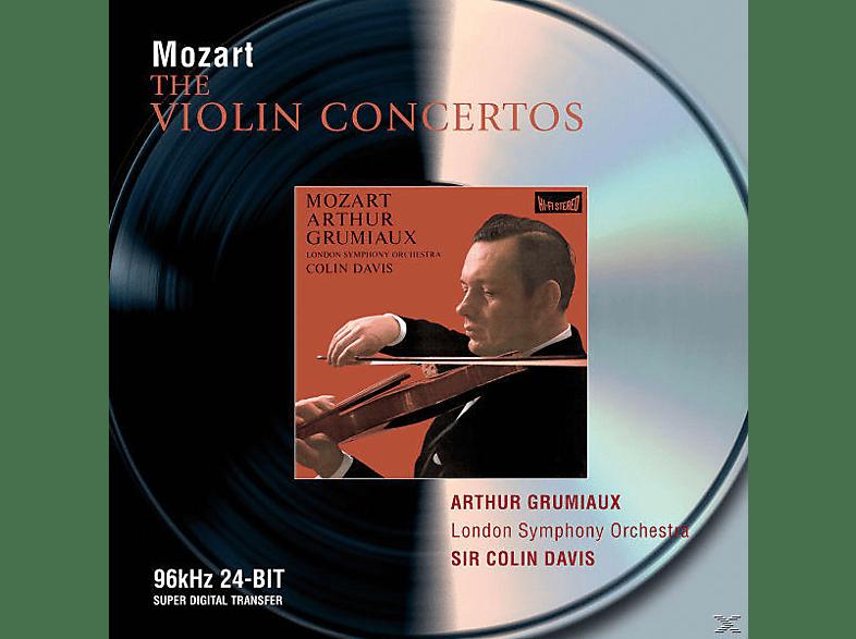 Arthur Grumiaux, Grumiaux/Haskil/Davis/LSO - Violinkonzerte 1-5 (Ga)/Sonate Für Klavier Und V. [CD]