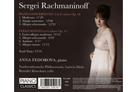 Anna Fedorova - Klavierkonzert 2/Cello Sonata [CD]