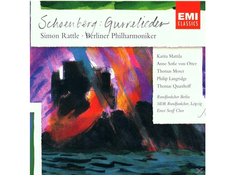 Simon Rattle, S./BP/Div.Chöre Rattle - Gurrelieder [CD]