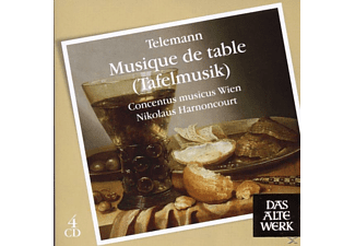 Nikolaus Harnoncourt - Telemann: Musique De Table - Tafelmusik  - (CD)