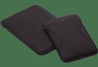 DICOTA D30682 Tab Case 7 F Tablethülle Sleeve für Universal Neopren, Schwarz