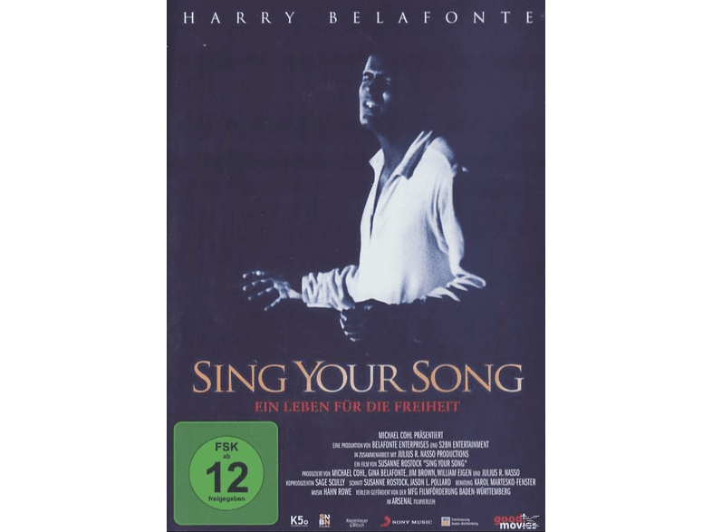 Harry Belafonte - Sing Your Song [DVD]