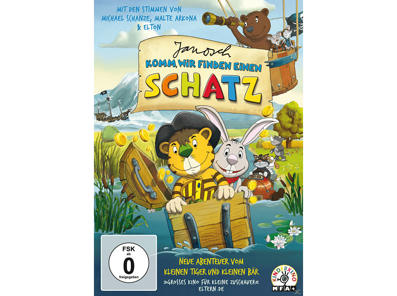 Janosch: Komm, wir finden einen Schatz [DVD]