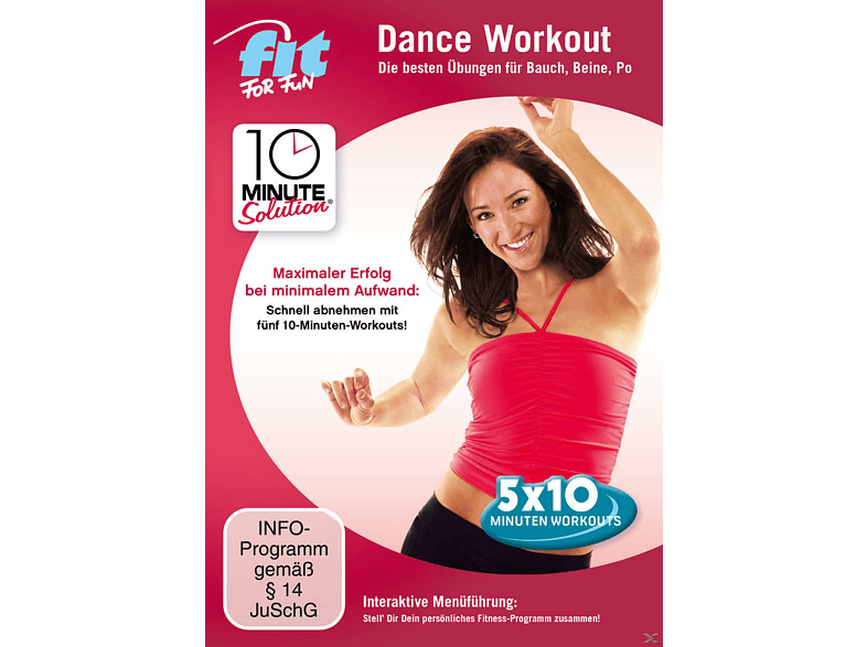 10 Minute Solution: Dance Workout - Bauch, Beine, Po [DVD]