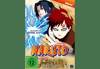 Naruto Staffel 8 & 9: Folge 184-220 DVD