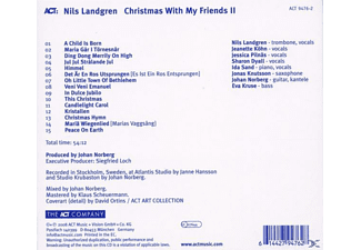 Nils Landgren - Christmas With My Friends Ii  - (CD)