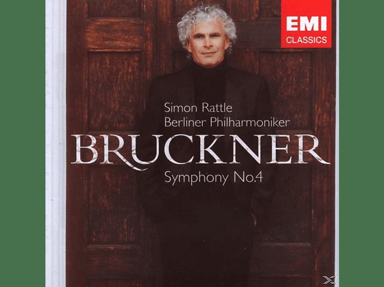 "Carl August Nielsen, Simon/bp Rattle - Sinfonie 4 ""romantische"" [CD]"