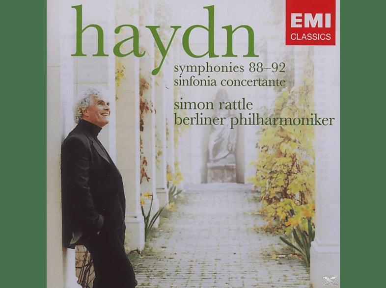 Carl August Nielsen, Simon/bp Rattle - Sinfonien 88-92 [CD]