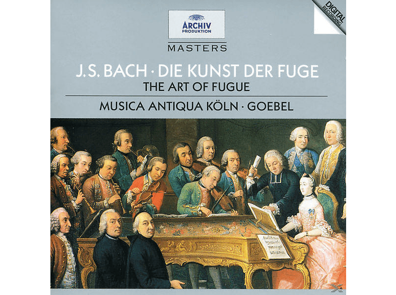 Reinhard Goebel, Reinhard/mak Goebel - Die Kunst Der Fuge [CD]