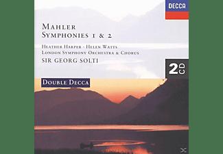 Sir Georg Solti, Georg/lso Solti - Sinfonien 1, 2  - (CD)