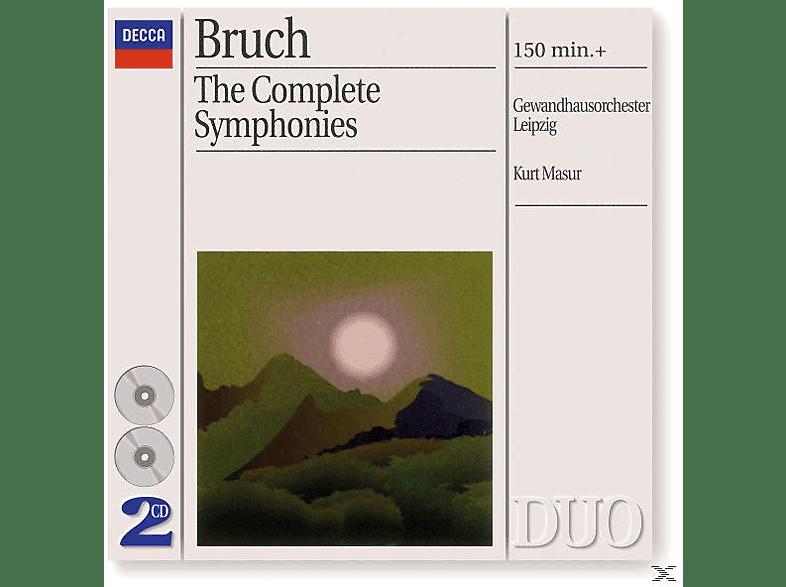 Gewandhausorchester, Kurt/gol Masur - Sämtliche Sinfonien 1-3 (Ga) [CD]