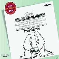 VARIOUS, Donath/Ihle/Lipovsek/Schreier/SD/Schreier - Weihnachts-Oratorium (Ga) - [CD]