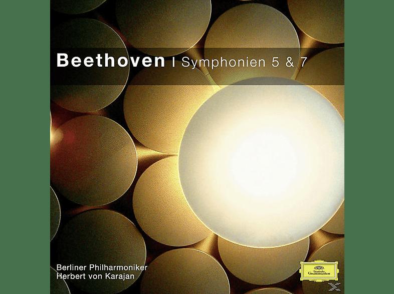 VARIOUS, Herbert Von Bp/karajan - SINFONIEN NR.5&7 [CD]