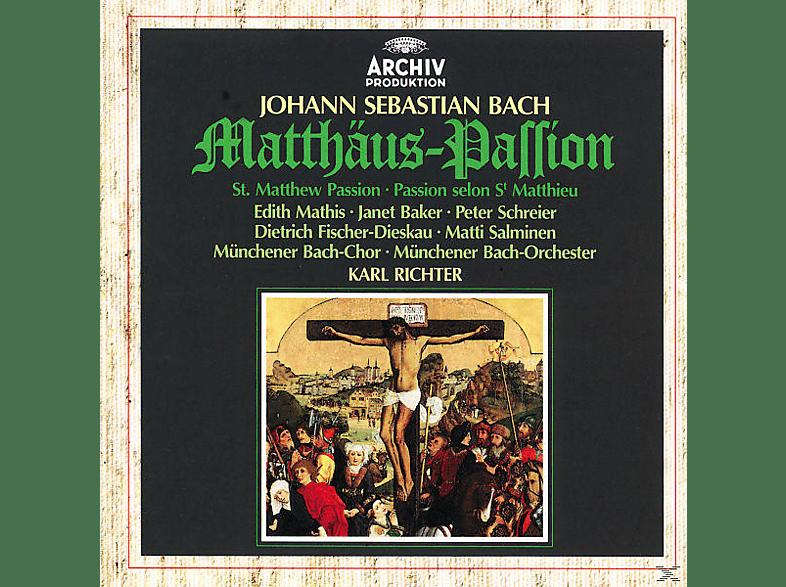VARIOUS, MATHIS/SCHREIER/RICHTER/MBO - Matthäus-Passion (Ga) [CD]