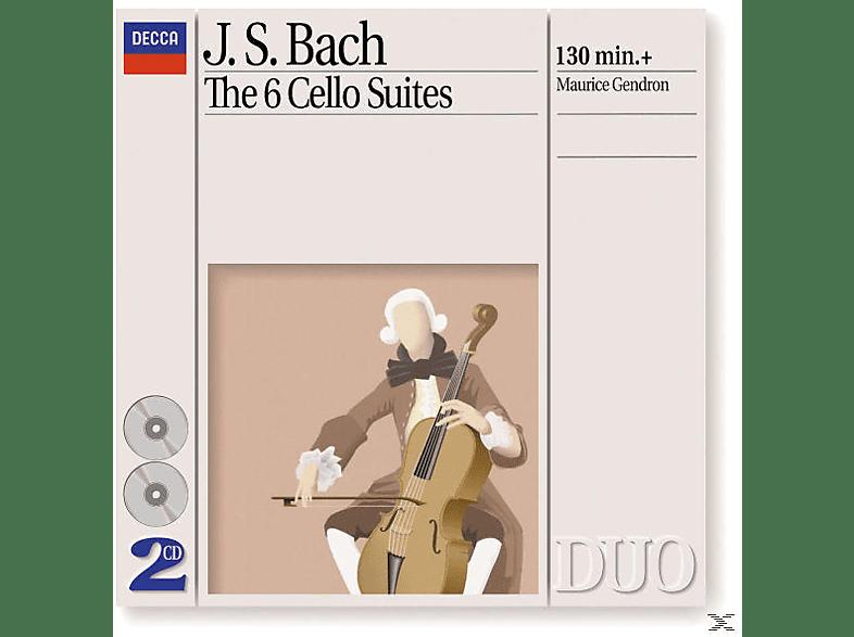 Maurice Gendron - Sämtliche Cellosuiten Bwv 1007-1012 (Ga) [CD]