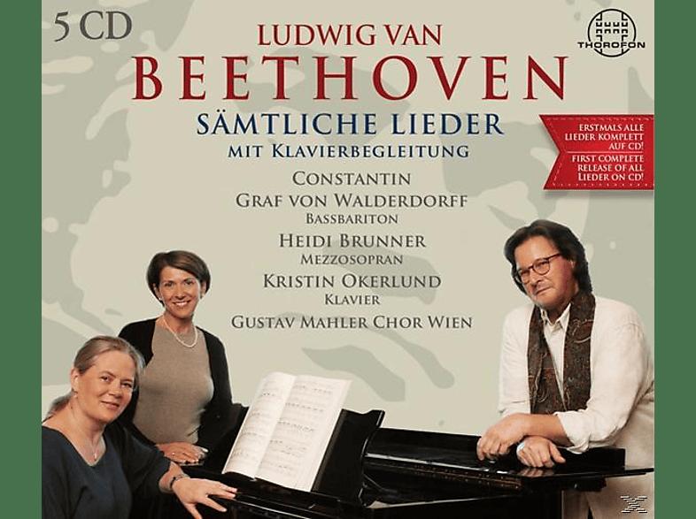 Graf Von Walderdorf,Brunner,Oberlund,Chor Wien - Sämtliche Lieder Mit Klavierbegleitung [CD]