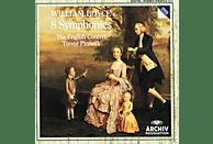 Ec, Trevor/ec/+ Pinnock - 8 Sinfonien [CD]