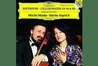 Martha Argerich, Argerich,M./Maisky,M. - Cellosonaten 3-5 [CD]