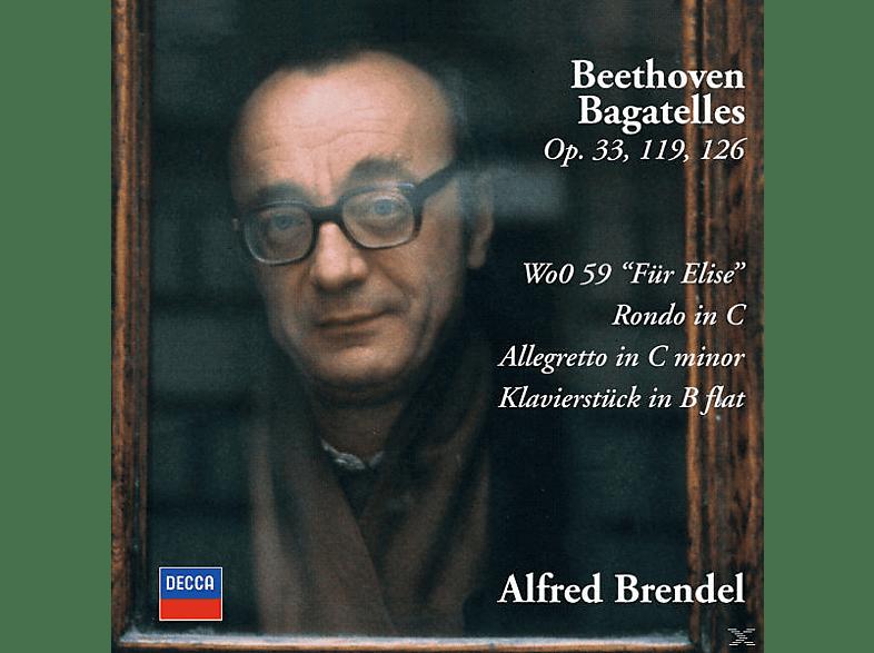 Alfred Brendel - Bagatellen Op.33, 119, 126/Rondo 1/+ [CD]