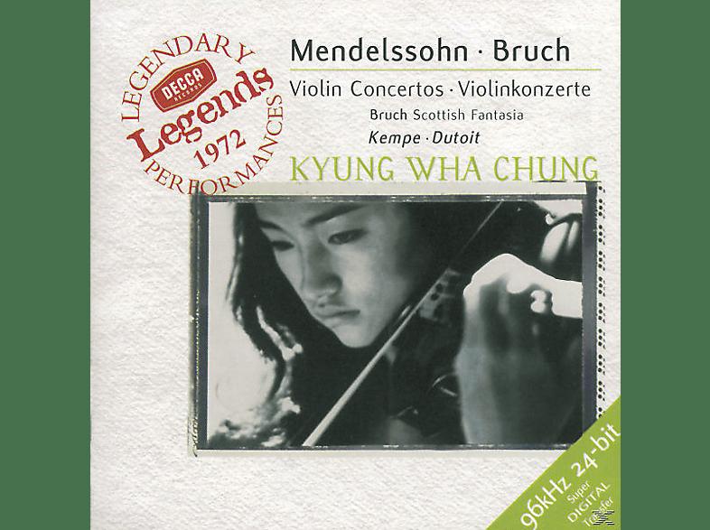 VARIOUS, Chung,Kyung-Wha/Dutoit,Charles/RPO/+ - Violinkonzert E-Moll/Schottische Fantasie [CD]