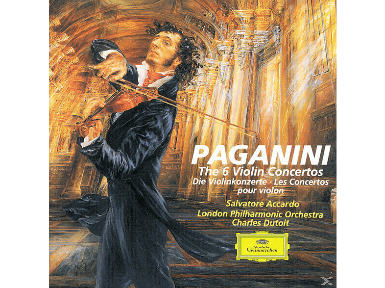 Salvatore Accardo, Accardo,Salvatore/LPO/Dutoit,Charles - Sämtliche Violinkonzerte 1-6 (Ga) [CD]
