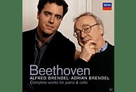 Alfred Brendel, Alfred Brendel - Adrian Brendel - SÄMTLICHE CELLOSONATEN 1-5 (GA) [CD]