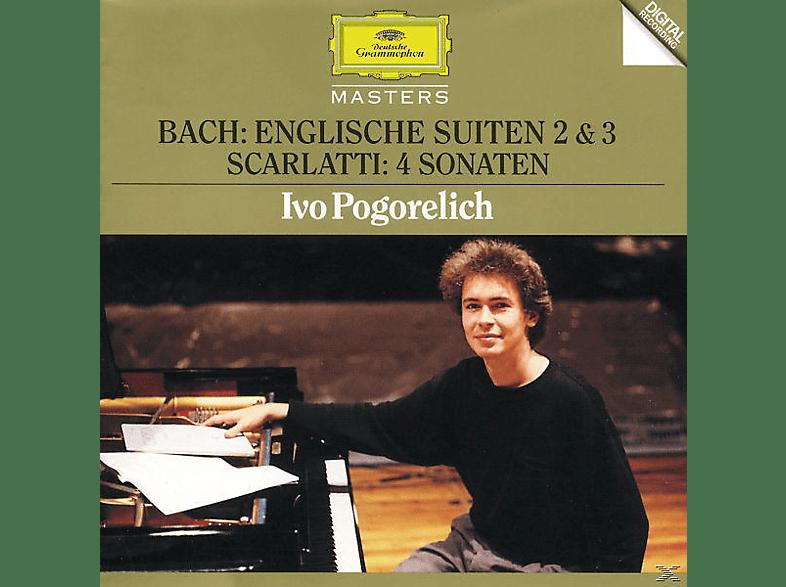 Ivo Pogorelich - Englische Suiten 2, 3/Sonaten.K87, 135, 380, 450 [CD]