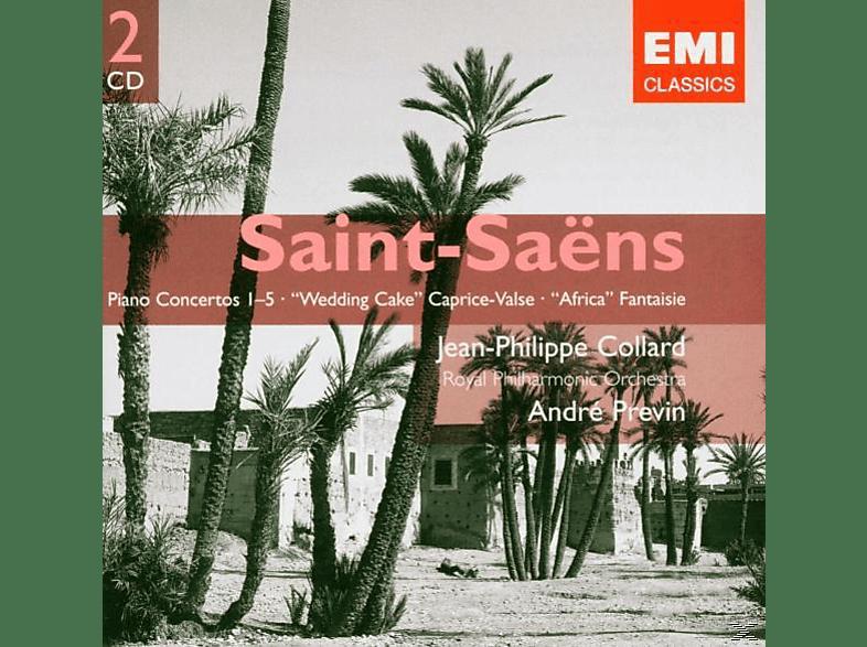 André Previn, Rpo, Collard - Klavierkonzerte 1-5/+(Ex Df) [CD]