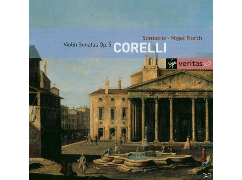Trio Sonnerie, N. North, N./Trio Sonnerie North - Violinsonaten [CD]