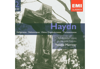 Hendricks/Marriner/SD/+ - Messen (Heilig/Nelson/+) (Df)  - (CD)