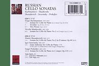 Thibaudet, Vogt, Mork - Russische Cellosonaten [CD]