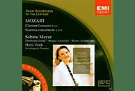 Staatskapelle Dresden, Meyer Sabine - Mozart (Klarinettenkonzert / Sinfonia Concertante) [CD]