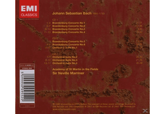 VARIOUS - Bach  Brandenburg Conc  3cd 07  - (CD)