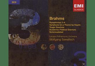 Wolfgang Sawallisch - Sinfonien 1-4  - (CD)