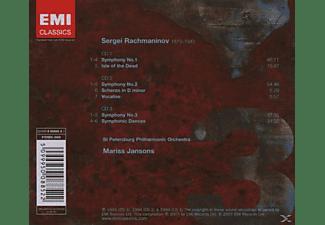 Mariss Jansons - Rahmaninov: Sinfonien 1-3  - (CD)