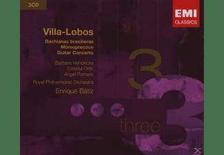Lpo, Ashkenazy, Rpo, Ortiz, Batiz - Bachianas Brasileiras 1-9  - (CD)