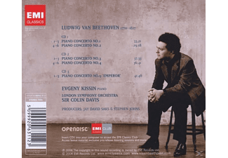 Evgeny Kissin - The Complete Piano Concertos  - (CD)