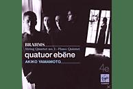 Akiko Quatuor Ebène & Yamamoto - Brahms: String Quartet No. 1, Piano Quintet [CD]
