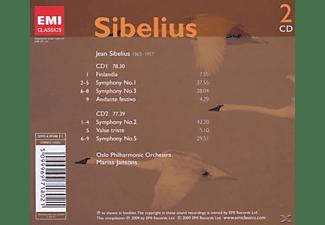 Mariss Jansons - Sinfonien 1, 2, 3, 5  - (CD)