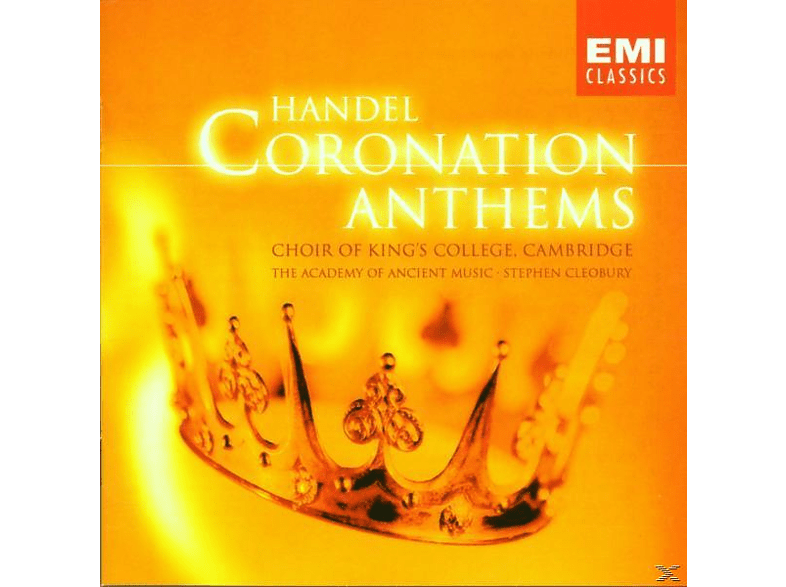 Kings College Choir Cambridge - Coronation Anthems/Ode Birthd. [CD]