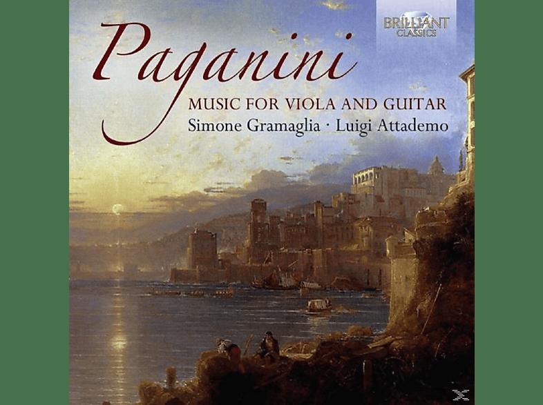 Simone Gramaglia, Luigi Attademo - Music For Guitar And Viola [CD]
