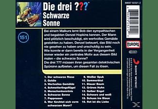 Die drei ??? 151: Schwarze Sonne  - (CD)